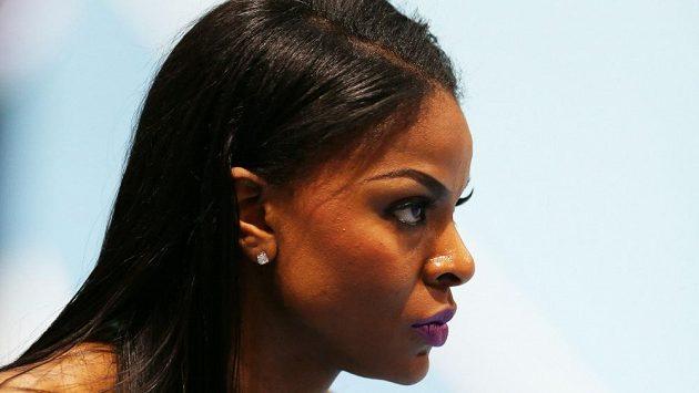 Regina Georgeová, sprinterka z Nigérie.