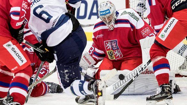 Brankář Pavel Francouz byl velkou oporou české reprezentace na Švédských hokejových hrách a řekl si tím výrazně o nominaci na letošní mistrovství světa.