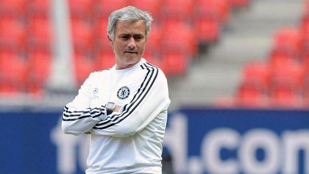 Trenér José Mourinho ještě v době, kdy trénoval londýnskou Chelsea.
