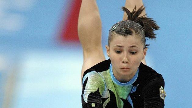 Sportovní gymnastka Luiza Galjulinová