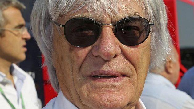 Bernie Ecclestone v Monze.