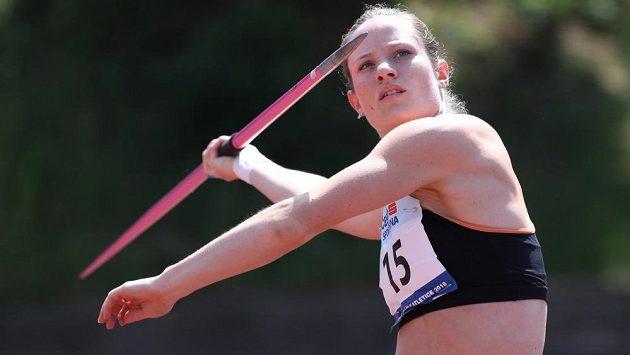 Kateřina Cachová by v Kladně chtěla zaútočit na svůj osobní rekord.