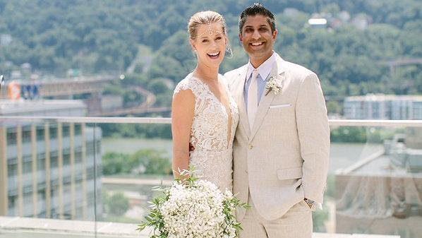 Alison Riskeová se vdala.