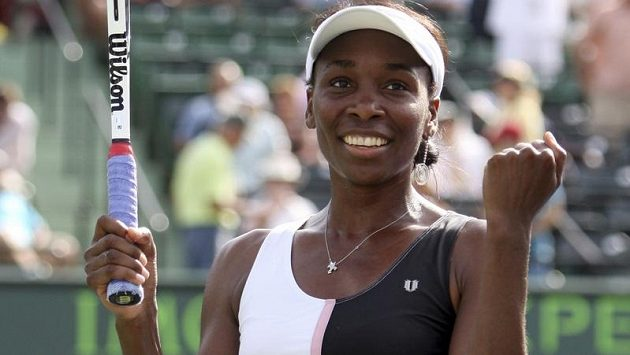 Venus Williamsová po zápase s Kimiko Dateovou-Krummovou.