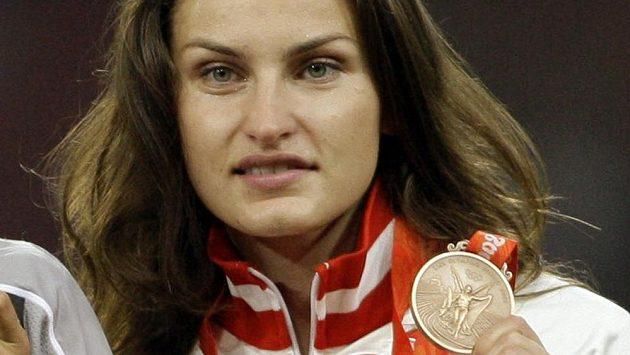 Ruská výškařka Anna Čičerovová přijde kvůli dopingu o olympijský bronz z Pekingu.