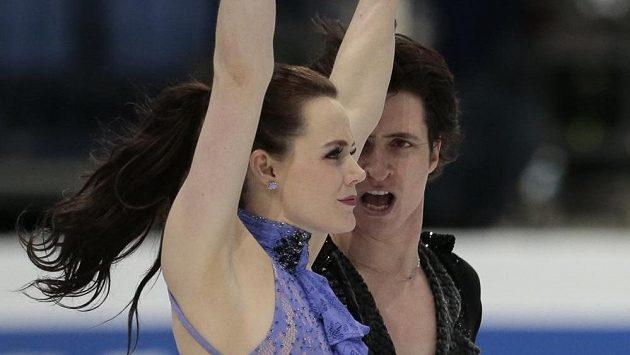 Kanadský taneční pár Tessa Virtueová, Scott Moir má nakročeno k třetímu titulu mistrů světa.