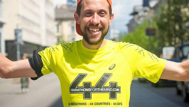 Peter Thompson - chlapík, který dá cyklistický závod bez kola.