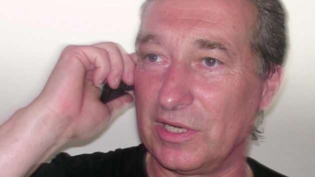 Manažer fotbalistů Ústí nad Labem Stanislav Pelc.
