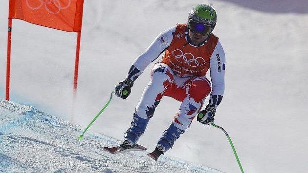Jan Hudec při tréninku.