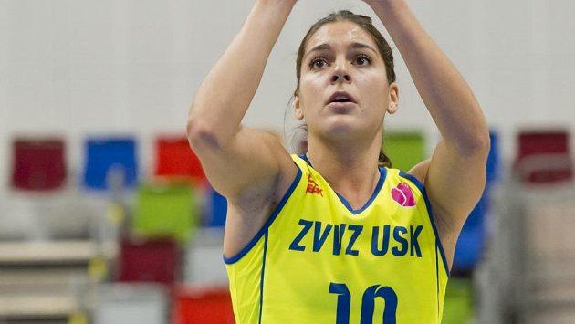 Basketbalistka USK Praha Marta Xargayová - ilustrační foto.