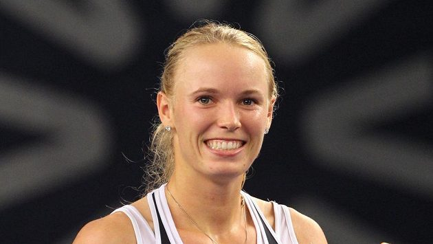 Dánská tenistka Caroline Wozniacká.