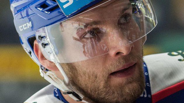 Obránce české reprezentace Adam Polášek hraje v KHL za Novosibirsk