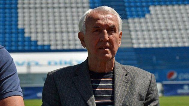 Vladimír Mokrohajský se před časem sešel na Bazalech s dalšími legendami klubu.