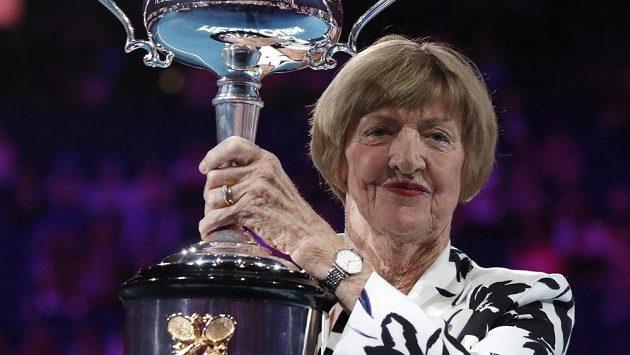 Margaret Courtová se dočkala během Australian Open ocenění.