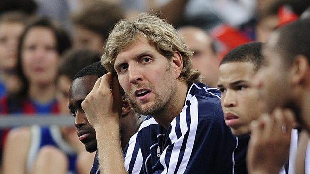 Basketbalista Dirk Nowitzki z Dallasu