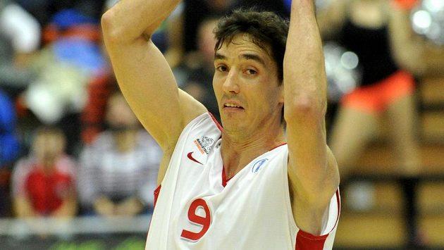Nymburský basketbalista Jiří Welsch.
