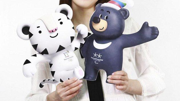Bílý tygr Soohorang bude maskotem zimních olympijských her v roce 2018 v korejském Pchjongčchangu.