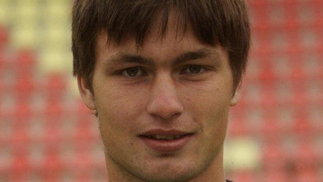Příbramský útočník Tomáš Wágner.
