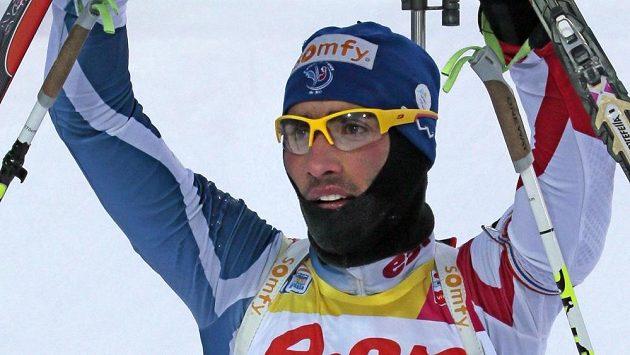 Francouzský biatlonový král Martin Fourcade potvrdil svoje výsadní postavení i v Chanty Mansijsku.