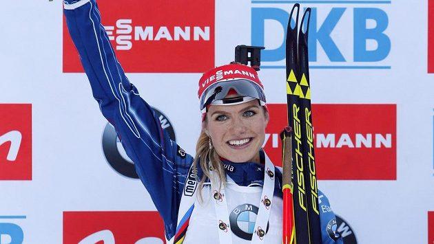 Gabriela Soukalová se vrátila na první příčku klasifikace Světového poháru.