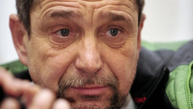 Petr Záhrobský na archivním snímku ze 4. ledna 2008.
