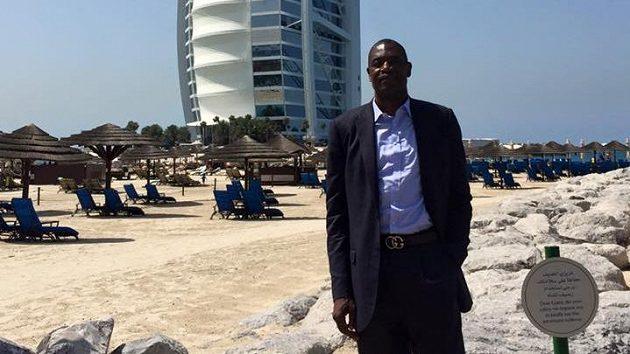 Bývalý basketbalista Dikembe Mutombo
