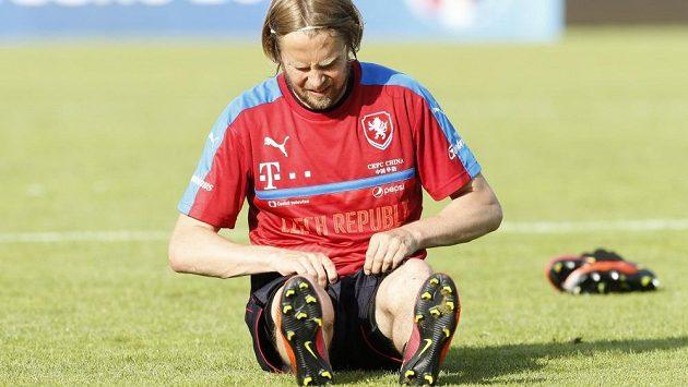 Český fotbalista Jaroslav Plašil.