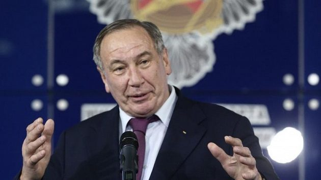 Šéf ruského tenisového svazu Šamil Tarpiščev.