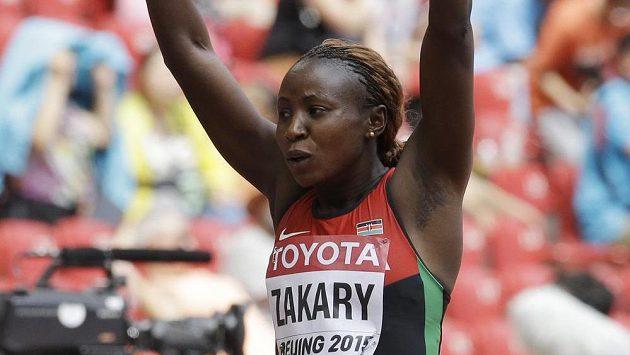 Keňská čtvrtkařka Joyce Zakaryová je podezřelá z užití dopingu.