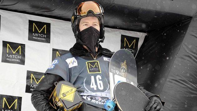 Dvojnásobný olympijský vítěz ve snowboardingu Shaun White.