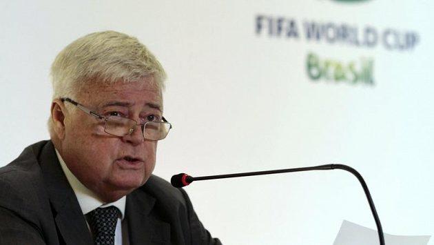 Bývalý předseda brazilského fotbalového svazu Ricardo Teixeira