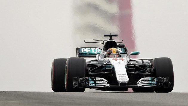 Lewis Hamilton z Mercedesu.