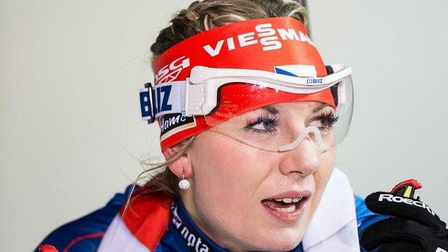 Lucie Charvátová na archivním snímku.