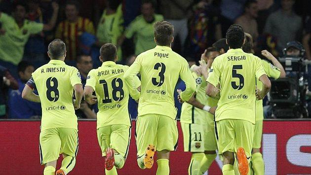 Fotbalisté Barcelony, ilustrační foto.