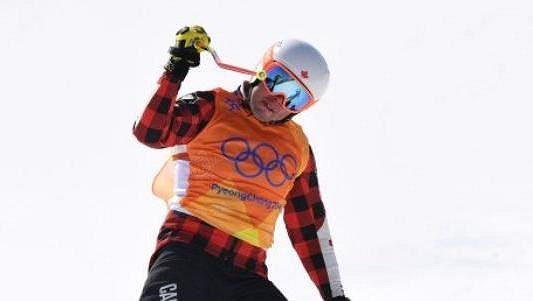 Kanadský skikrosař Dave Duncan.