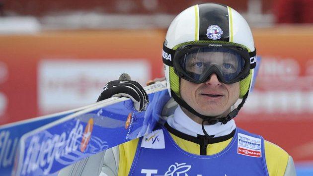 Český sdruženář Pavel Churavý na MS ve Val di Fiemme.