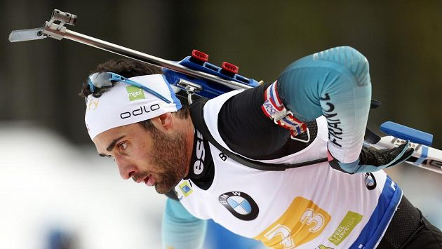 Také francouzský biatlonový král Martin Fourcade si musí počkat na start individuálního závodu SP v Pokljuce do čtvrtka.