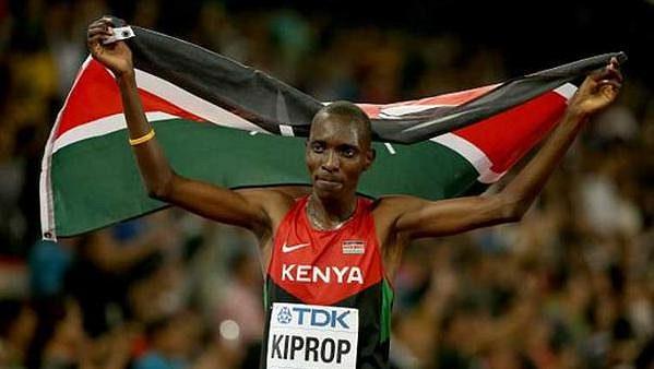 Keňský mílař Asbel Kiprop chce jezdit rallye.