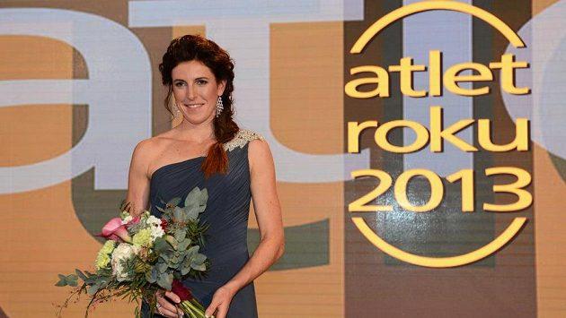 Překážkářka Zuzana Hejnová vyhrála anketu Atlet roku 2013.