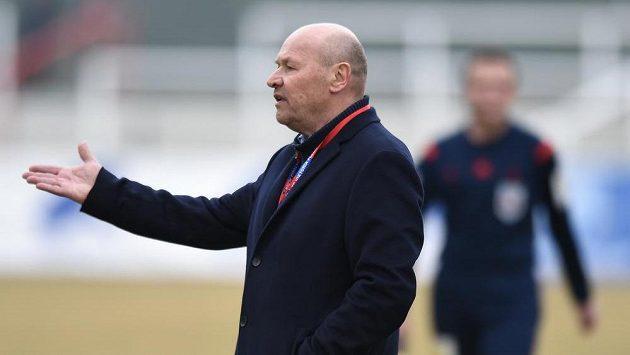 Plzeňský trenér Miroslav Koubek.