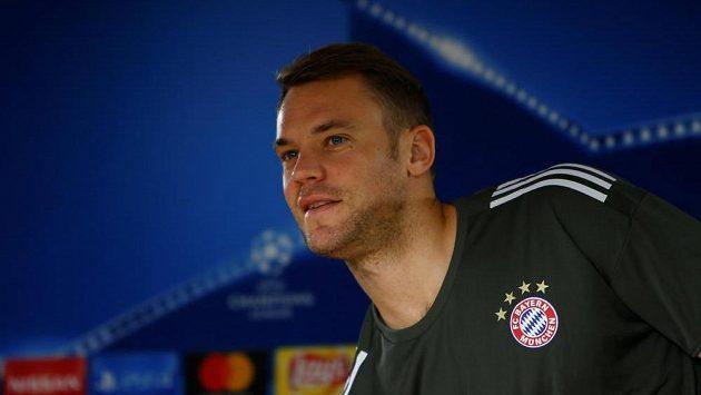 Brankář Bayernu Manuel Neuer.