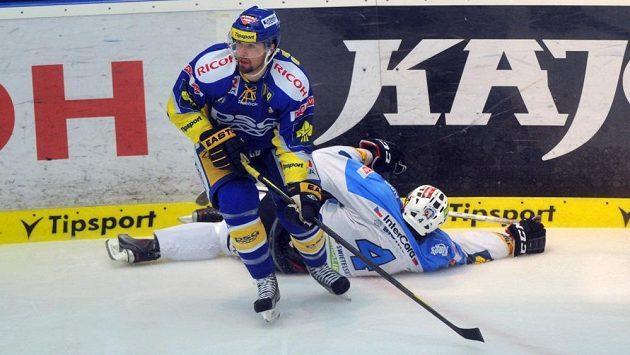 Jaroslav Balaštík ještě ve zlínském dresu, v němž získal dva extraligové tituly.