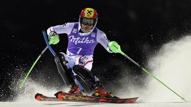 Rakouský lyžař Marcel Hirscher