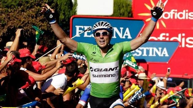 Německý cyklista John Degenkolb si připsal na letošní Vueltě už třetí vítězství.