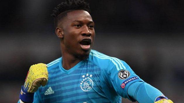 Brankář Ajaxu Amsterdam a kamerunské reprezentace André Onana.