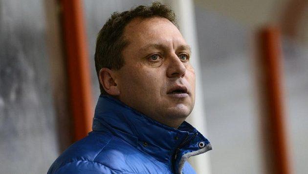 Trenér vítkovických hokejistů Peter Oremus.