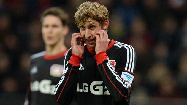 Útočník Leverkusenu Stefan Kiessling.