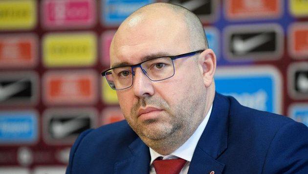 Generální ředitel Sparty Praha František Čupr.