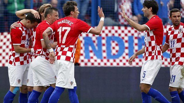 Fotbalisty Chorvatska trápí rozsáhlá marodka.