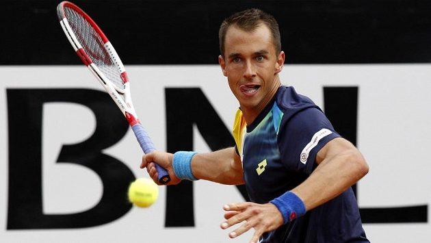 Český tenista Lukáš Rosol je ve 2. kole prostějovského challangeru.